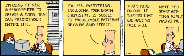 DILBERT © 1992 Scott Adams. Used By permission of UNIVERSAL UCLICK. All rights reserved.